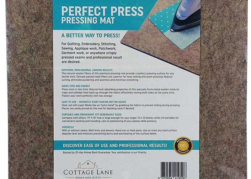 Quilter's Pressing Mat