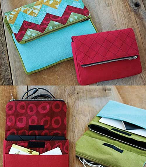 Tech Travel Pouch Sewing Pattern