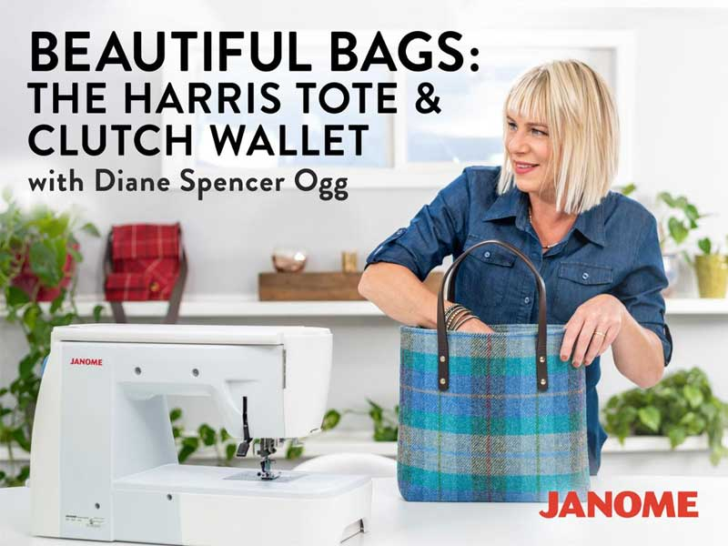 Beautiful Bags: The Harris Tote & Clutch Wallet Online Sewing Class