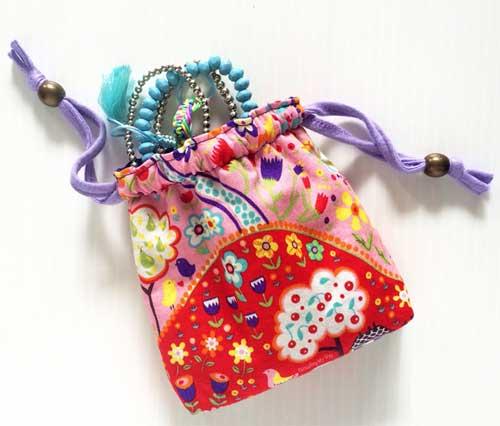 Drawstring Gift Bag - Free Sewing Pattern