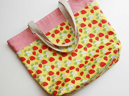 Farmer's Market Tote - Free Sewing Tutorial