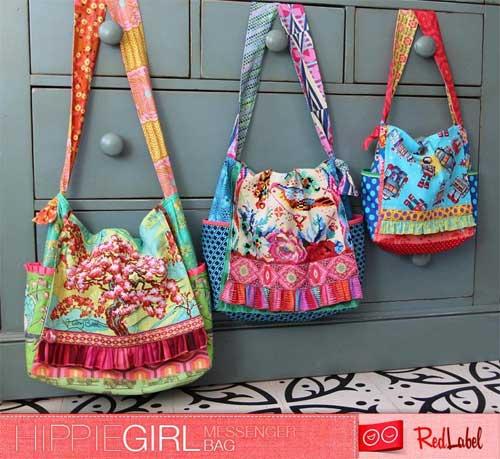 HippieGirl Messenger Bag Sewing Pattern
