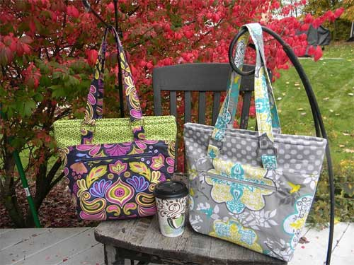 The Lucy Tote Bag Sewing Pattern