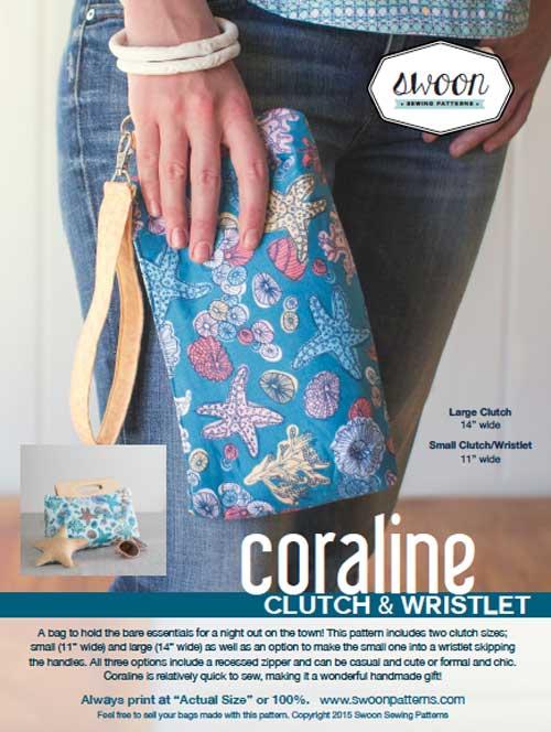 Coraline Clutch Sewing Pattern