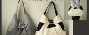 Liliane Buckled Hobo Bag Sewing Pattern