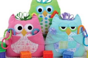 Baby Who Pillow Sewing Pattern