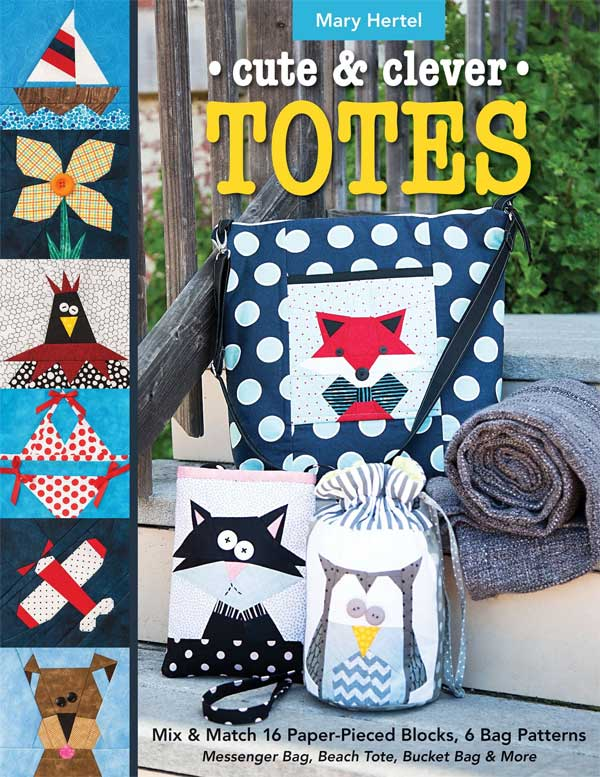 Cute & Clever Totes: Messenger Bag, Beach Tote, Bucket Bag & More