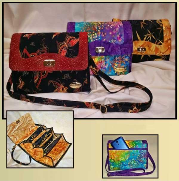 Miss Midi Purse Sewing Pattern