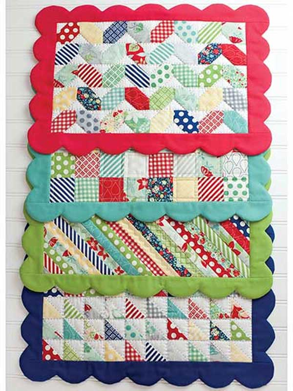 Scrappy Place Mats Pattern