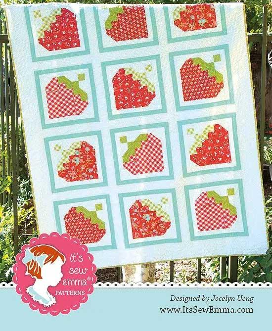 Strawberry Picking Quilt Pattern