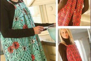 Easy-On Apron Sewing Pattern