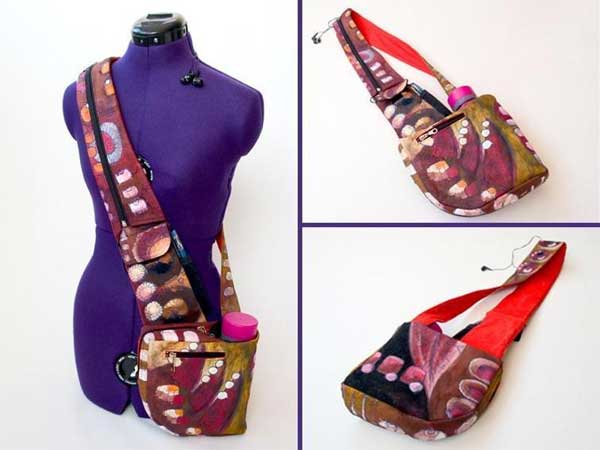 Cross-Body Hipster Bag Pattern