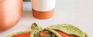 Pumpkin Pot Holder Sewing Pattern