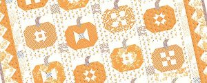 Pumpkins and Cream Quilt Pattern