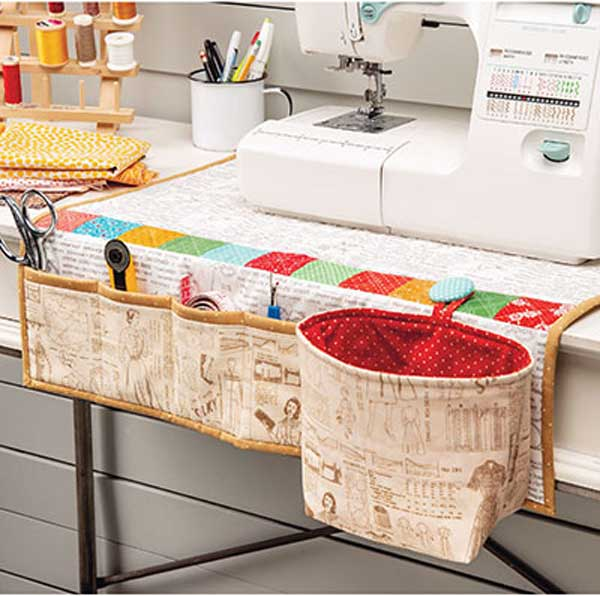 Sewing Machine Organizer Pad Sewing Pattern
