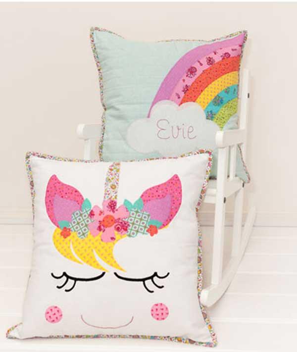 Unicorn Dreams Pillow Sewing Pattern