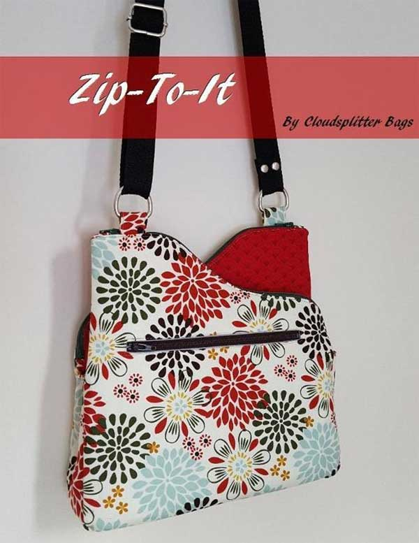 Zip-To-It Zippered Crossbody Bag Pattern