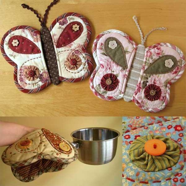 Butterfly Potholder Sewing Pattern