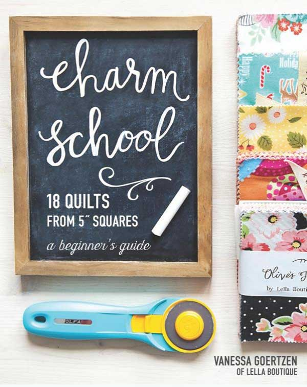 Charm School – 18 Quilts from 5″ Squares