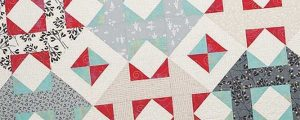 Cranberries and Mistletoe Quilt Pattern