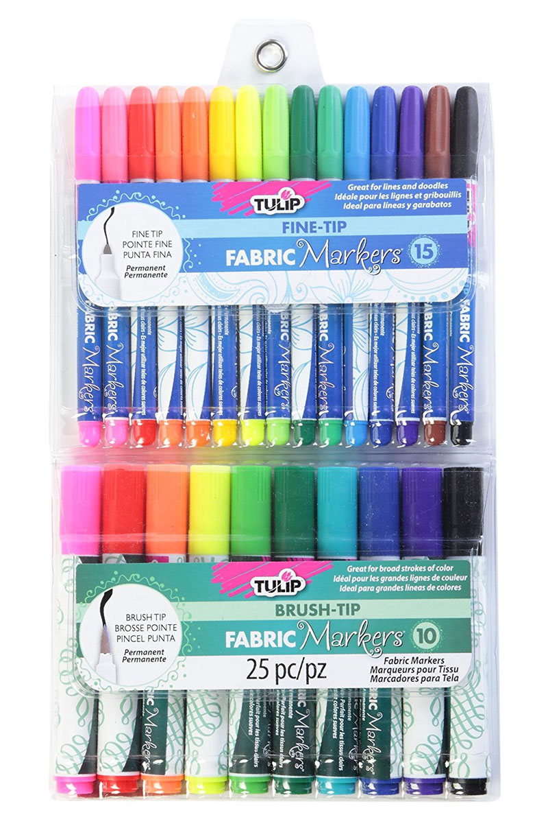 Tulip Permanent Fabric Markers