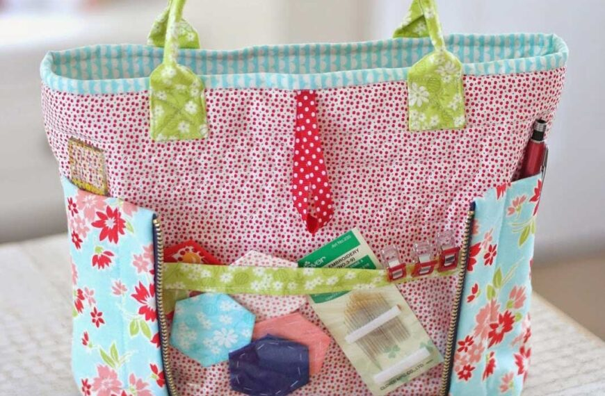 Sew on the Go Bag Pattern