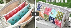 How to Make a Triple Zipper Pouch