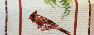Holiday Abstractions: The Cardinal Quilt Pattern