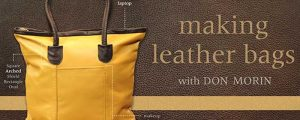 Making Leather Bags Online Sewing Class
