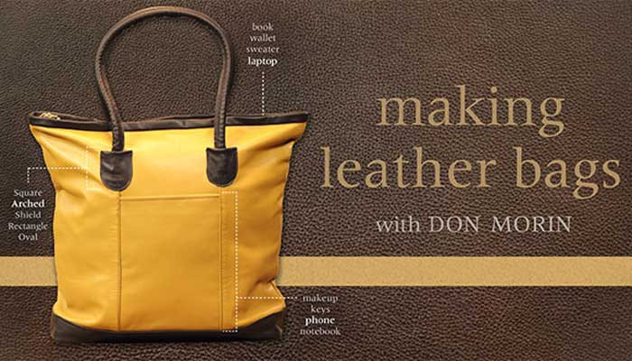 Making Leather Bags: Online Class