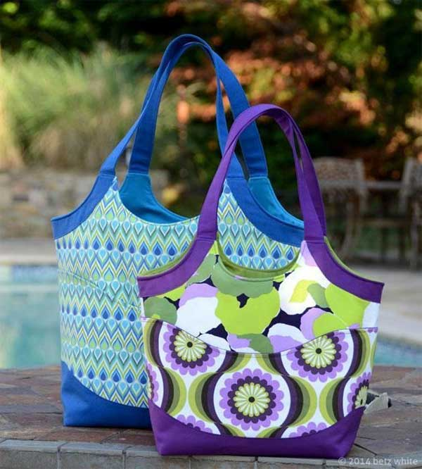 Smile and Wave Tote Bag Pattern