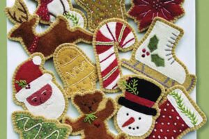 Sugar Cookie Ornaments Sewing Patterns