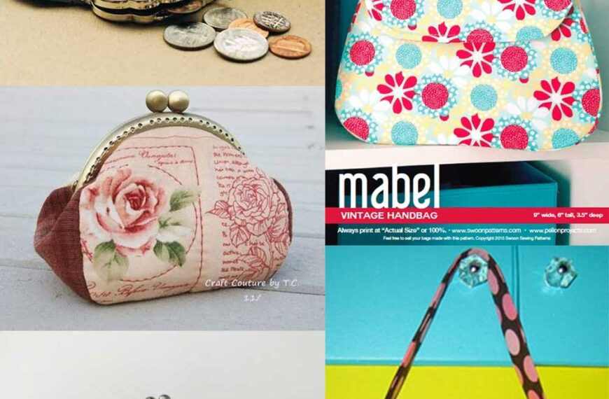 5 Free Vintage Style Purse & Bag Patterns to Sew