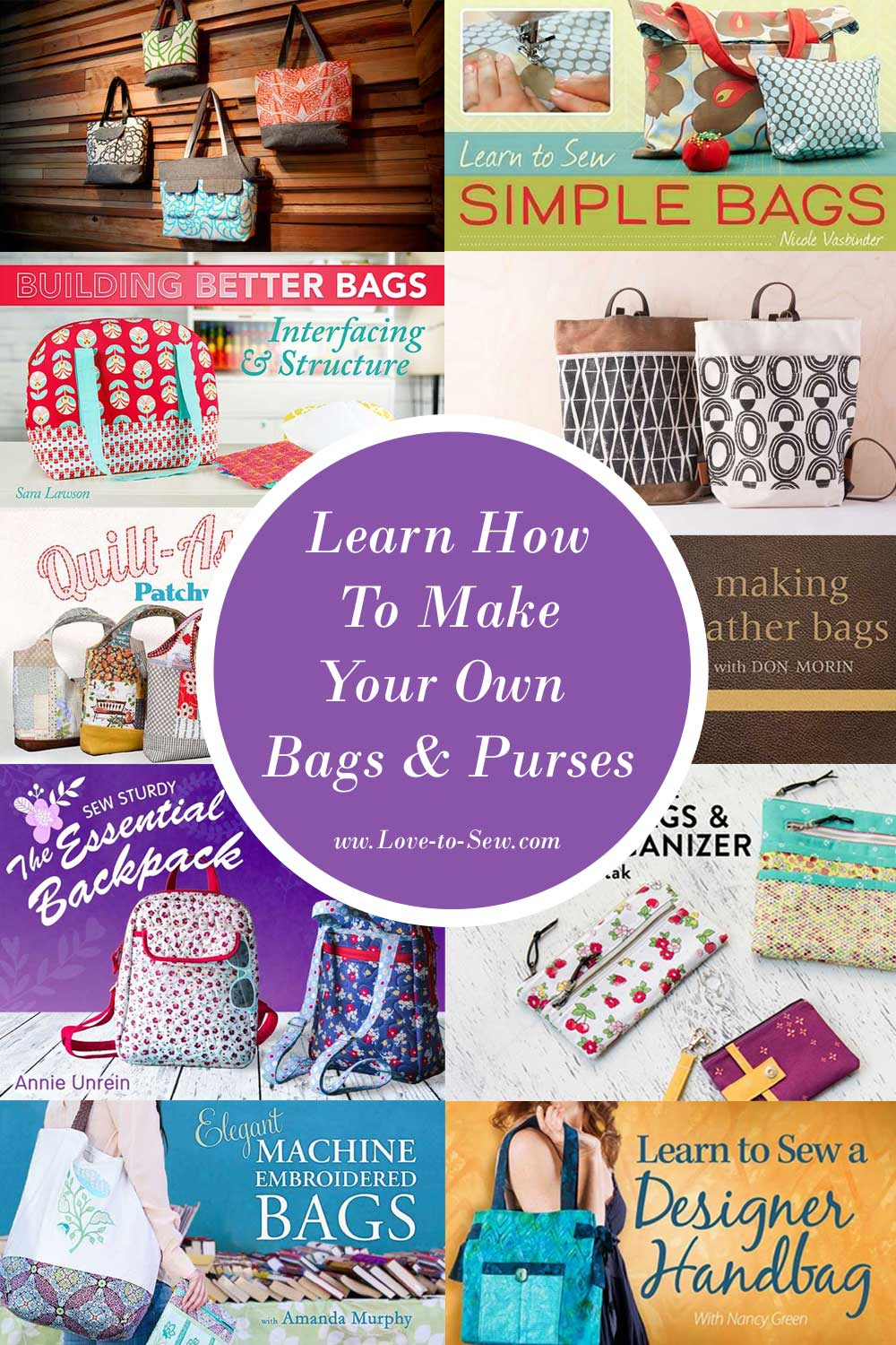 Learn How to Make Your Own Bags and Purses with these Online Classes