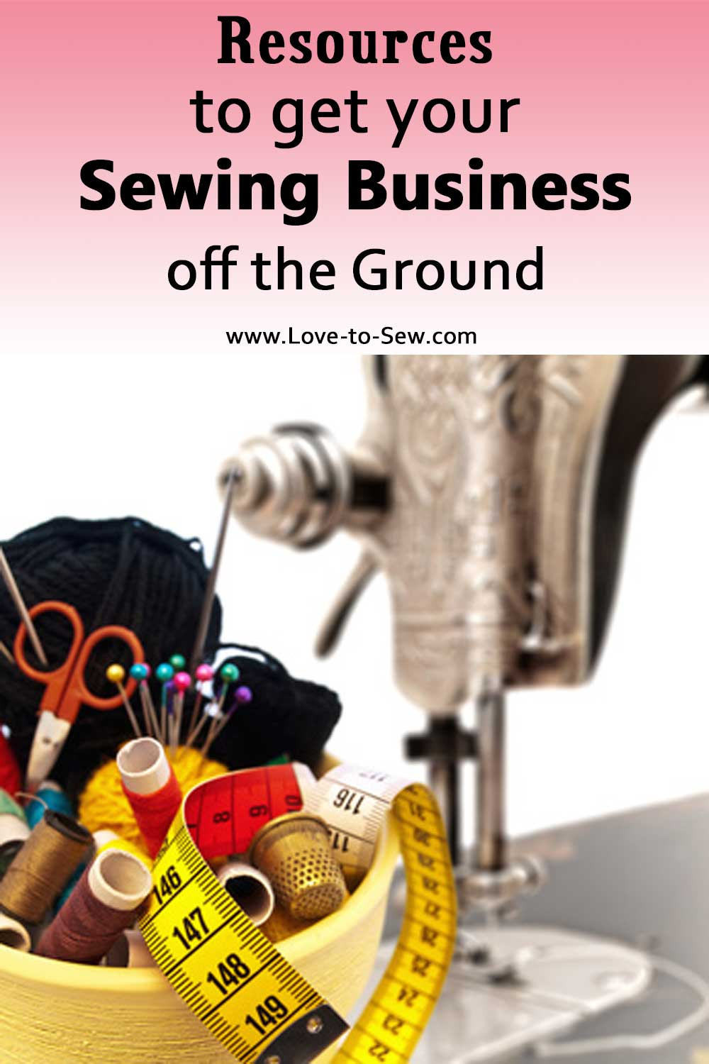 Resources to Get your Sewing Business off the Ground