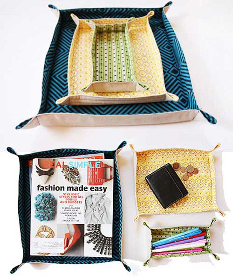 Fabric Tray - Free Sewing Tutorial