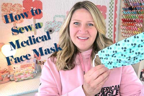 Make Your Own Face Masks - Free Sewing Pattern