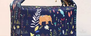 Insulated Fabric Lunch Bag – Free Sewing Pattern