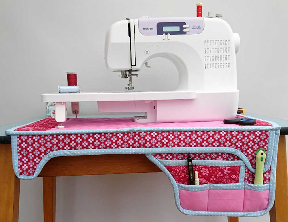 Sewing Machine Mat - Free Sewing Tutorial