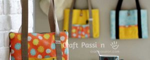 Tablet Carrier Bag – Free Sewing Tutorial